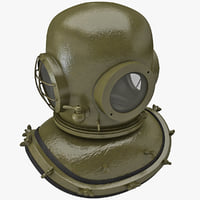 obj diving helmet