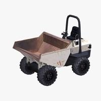 3d dumper truck model