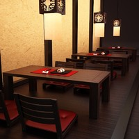 set table chairs sushi max