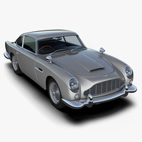 aston martin db5 3d 3ds