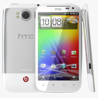 realistic htc sensation xl 3d max