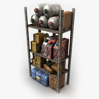 Metal Rack (Fully Textured)