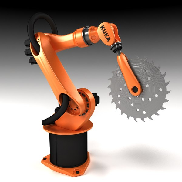 3ds kuka mechanical arm - Mechanical Arm... by dddfantast