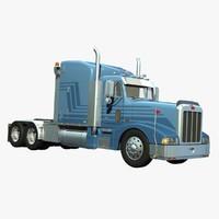 3d 377 truck sleeper sbfa model