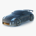 nissan 350Z 3D models