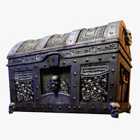 3ds max treasure chest