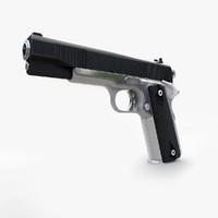 c4d handgun m1911