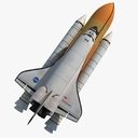 Space Shuttle DIscovery 3D models