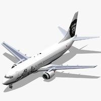 b 737-400 alaska dwg