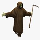 grim reaper 3D models