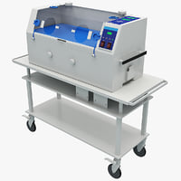 infant incubator 2 3d c4d