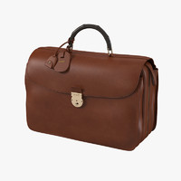 Gucci Brown Briefcase