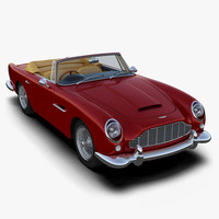 3d model aston martin db5 convertible