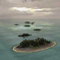 3ds max atoll islands