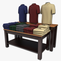 Polo Shirts Table