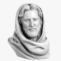 maya bust jesus christ