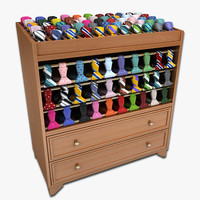 Mens Tie Display Rack