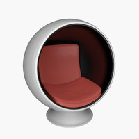 seat chair ball 3d max