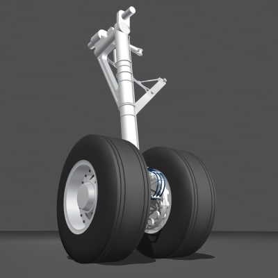 a320 landing gear system Hi, this may have been discussed before (i have searched), but on aircarft where the engines are underneath the wing (737, a320, 777 etc), if they have complete landing gear failure, do the engines touch the ground or are they ripped off on contact.