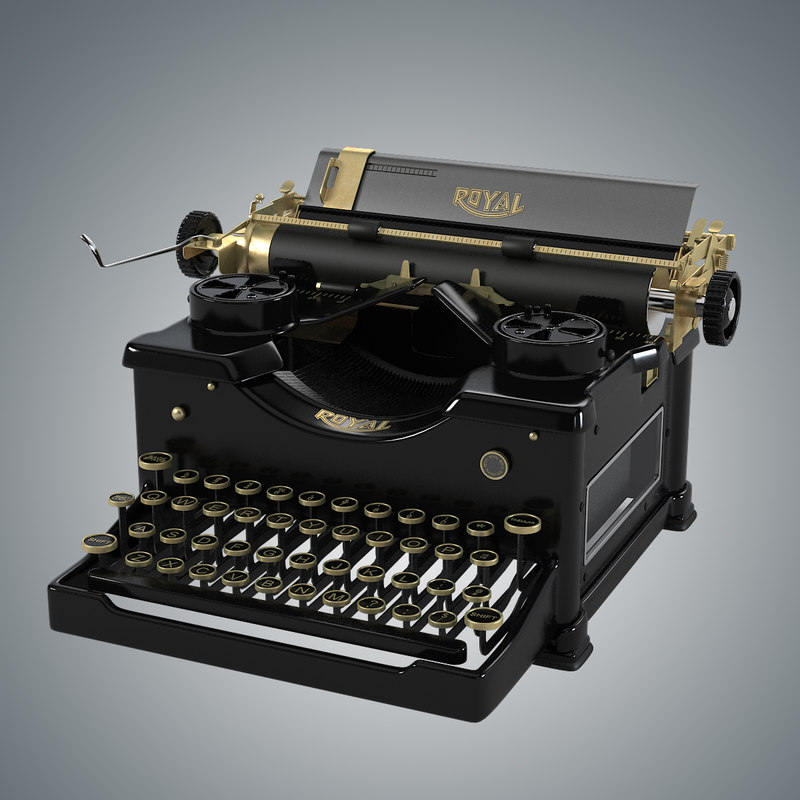 b Royal Vintage typewriter type antique old retro 0001.jpg