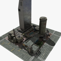 convention center 3D models