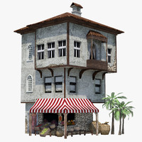 3d ready mediterranean house