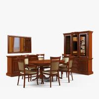 3d dining room furniture 2