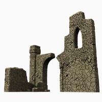 lwo castle ruins