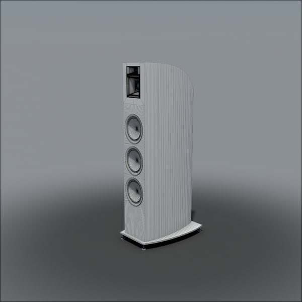 floor speakers max - Floor Speaker 001... by rlsmodel
