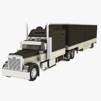 Freightliner Classic XL + trailer
