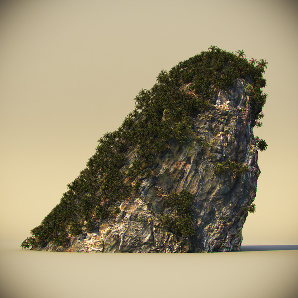 3d rock plants - Thailand Rock 2... by Dzejsi Models