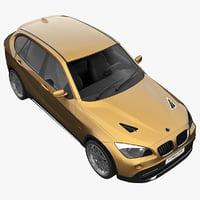 3d model realistic bmw x1 e84