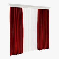 3dsmax curtain