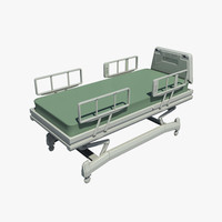 3ds max hospital bed