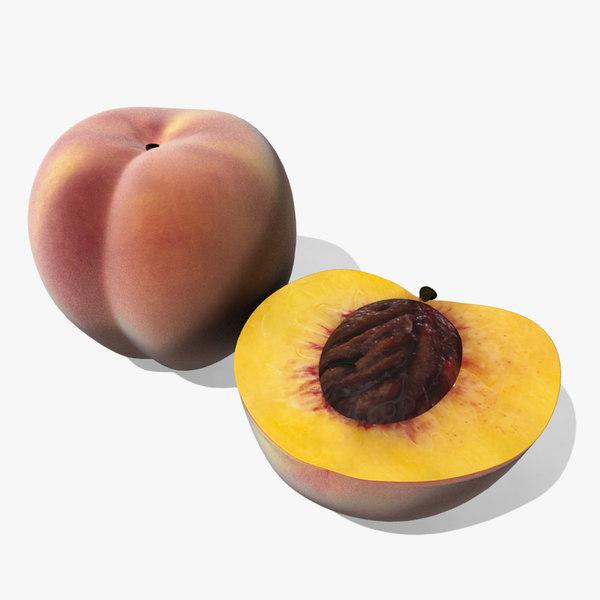 my fruits model peach