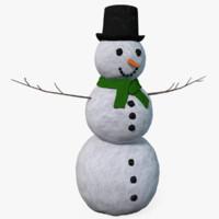 snowman x 3d 3ds