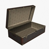 3ds steamer trunk