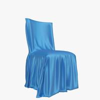 3d restaurant chair 02