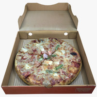 Pizza with Box