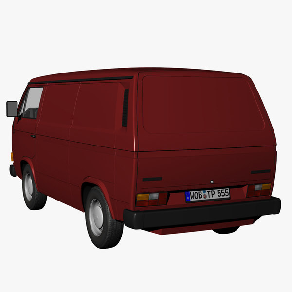 t3 van 3d model - VW T3 Panelvan 1979... by DreiDe
