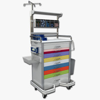 maya medical supply cart 1