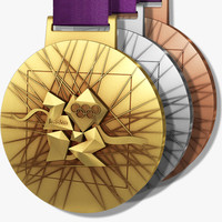 London 2012 Olympics Medals