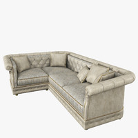 sofa sharon corner 3d model