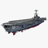 USS George H.W. Bush Aircraftcarrier (CVN-77)