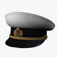 3d soviet navy peaked model