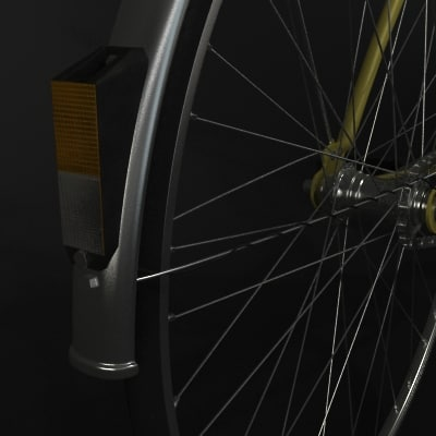 liberta bicycle 3d model - Liberta Bicycle... by MilosJakubec