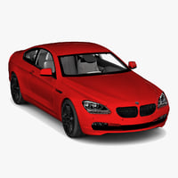 3d bmw 6 series coupe