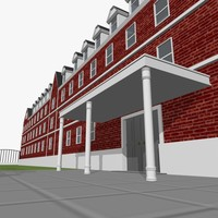 college building dxf