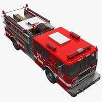 truck modelled 3d model
