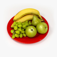 fruit plate 3ds